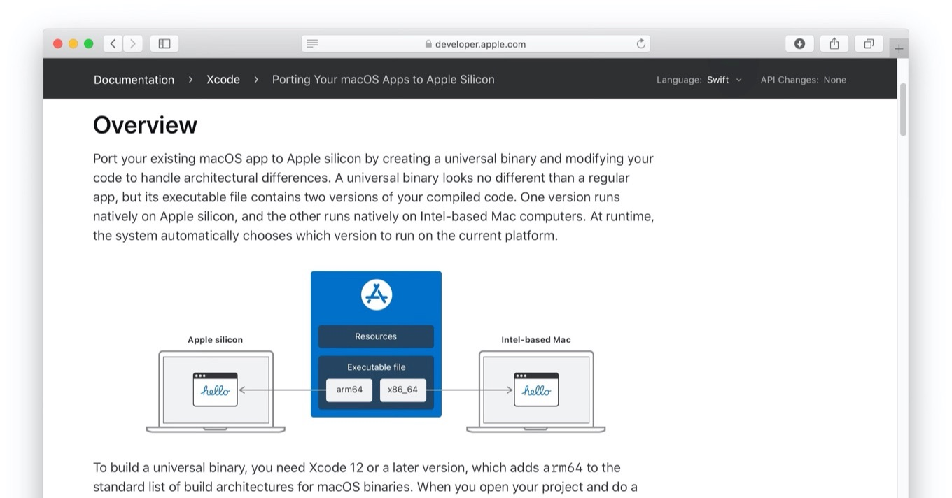 Porting Your macOS Apps to Apple Silicon
