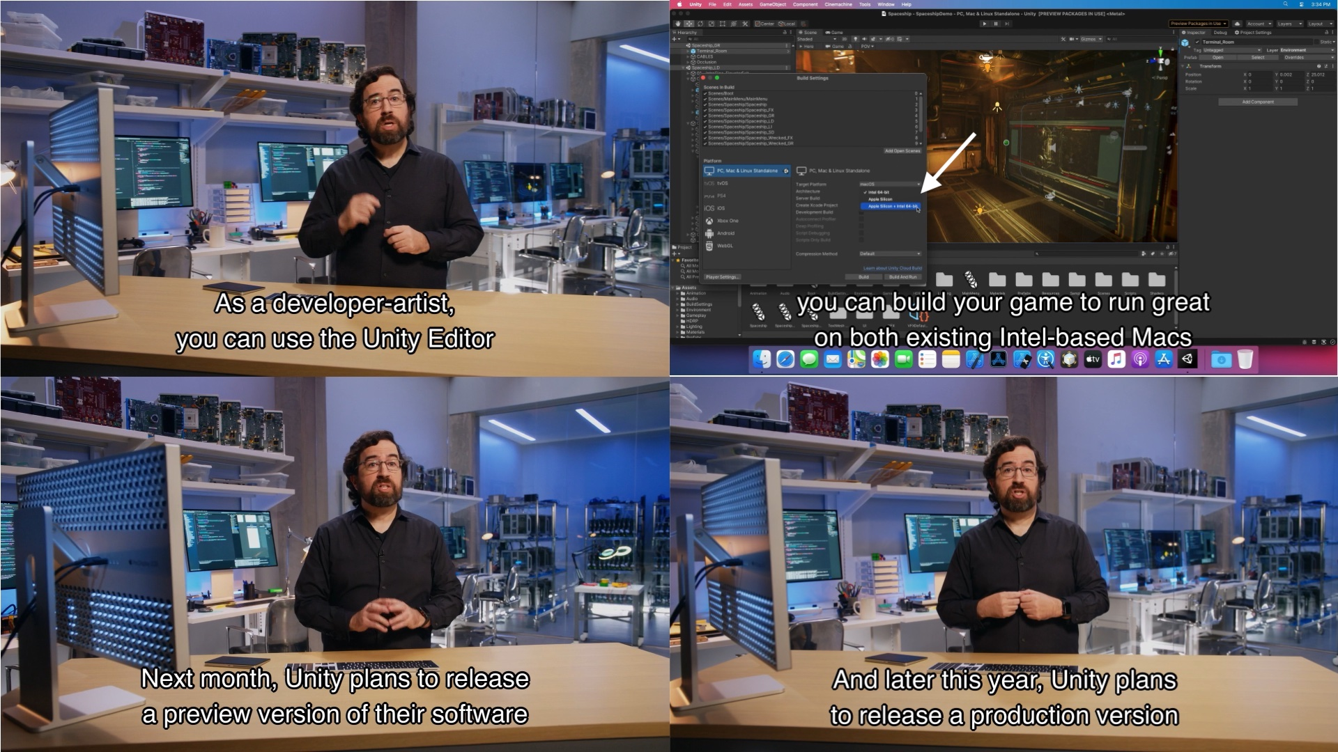 Apple Silicon製MacとUnity