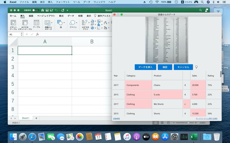 写真をMac上で編集可能な生データに変換