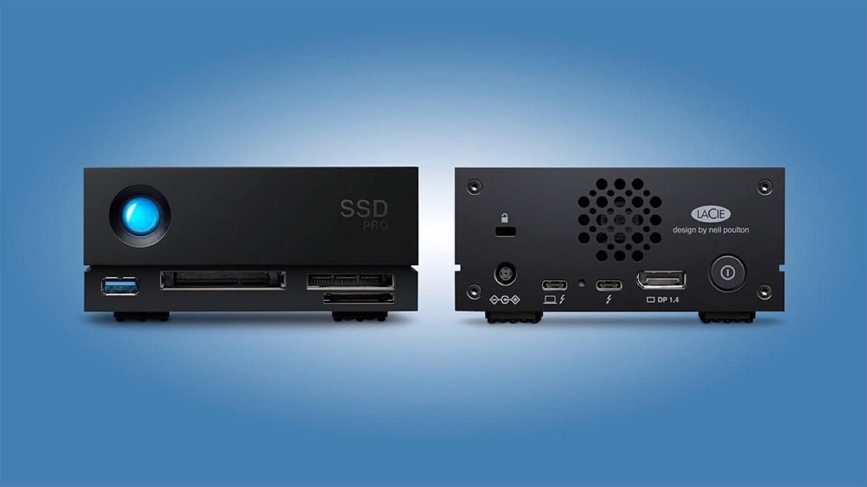 LaCie 1big Dock SSD Pro ports