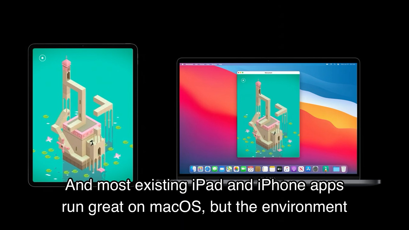 iPad and iPhone apps on Apple Silicon Macs
