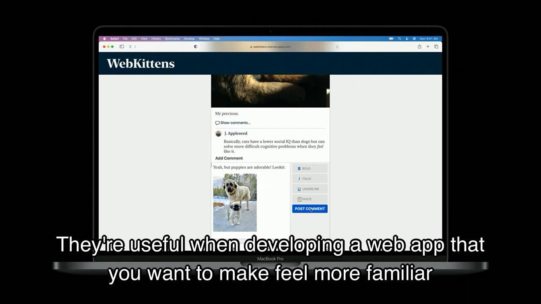 WebKitがSFシステムフォントをサポート