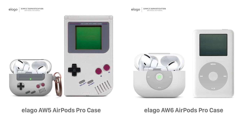 elago AW5とAW6 AirPods Pro Case