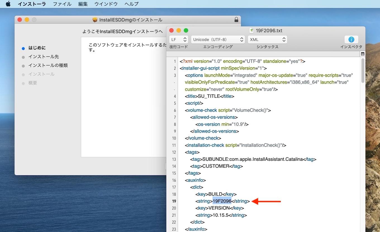 macOS Catalina 10.15.5 Build 19F2096