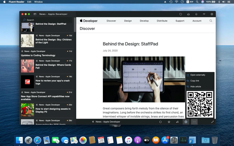 Fluent Reader for Mac