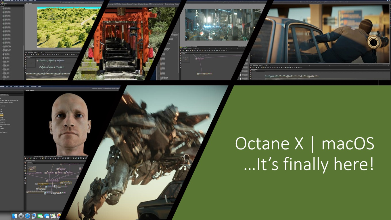 Octane X for macOS finally here