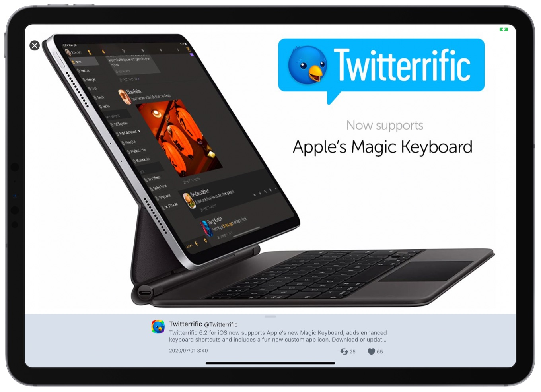 Twitterrific 6.2 for iOS