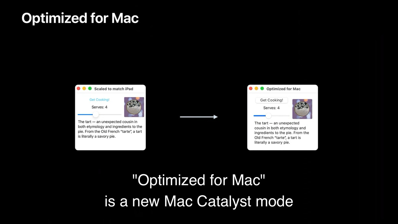 New Mac Catalyst Mode
