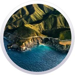 macOS 11 Big Surのロゴ