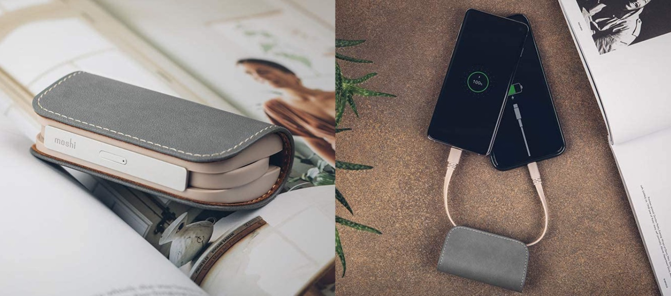 IonGo 5K with USB-A to Lightning Cable