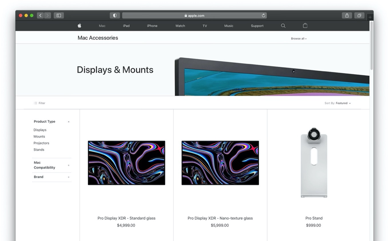 Apple Pro Display XDR Apple Online Store