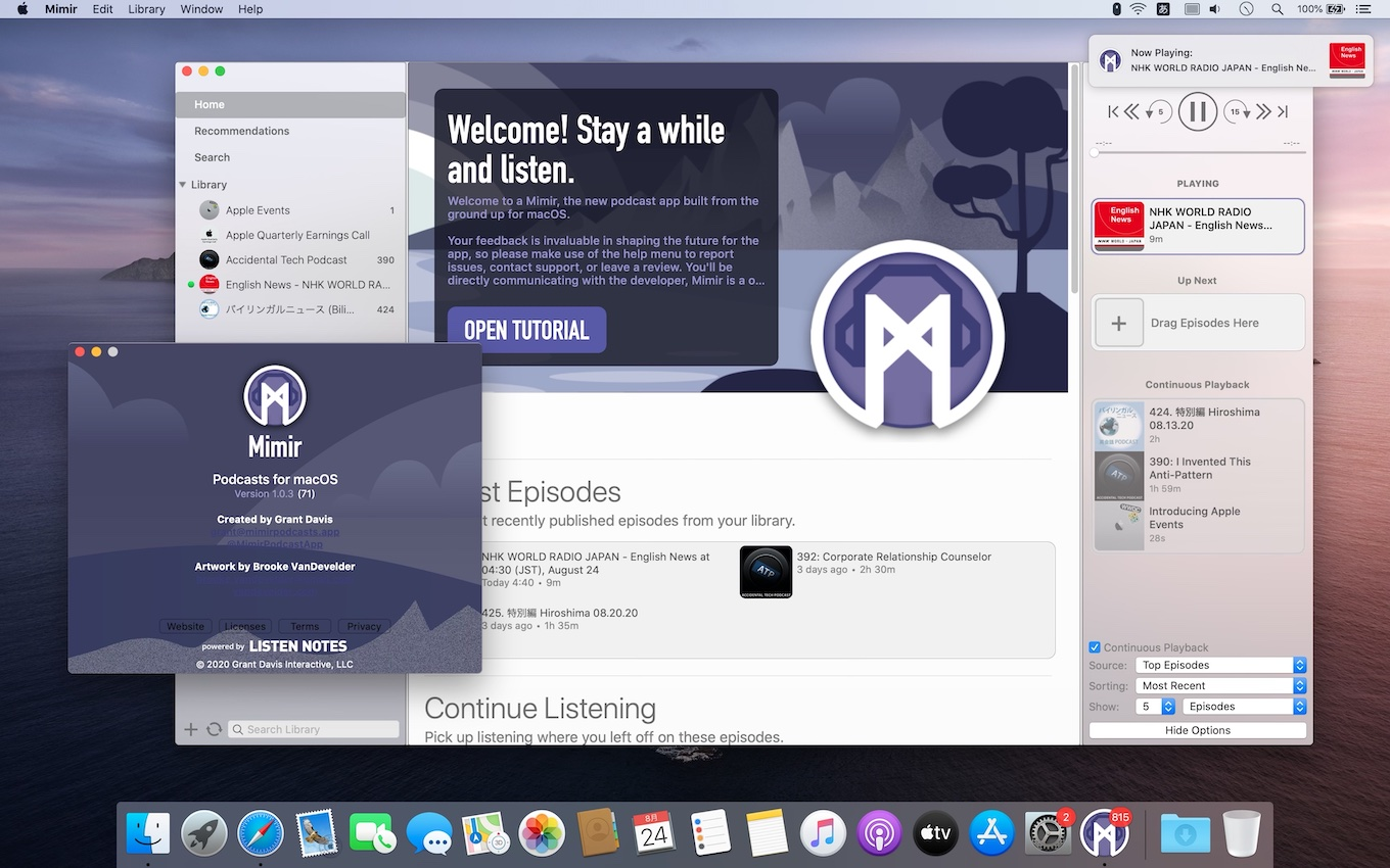 Mimir –Powerful Podcasts.