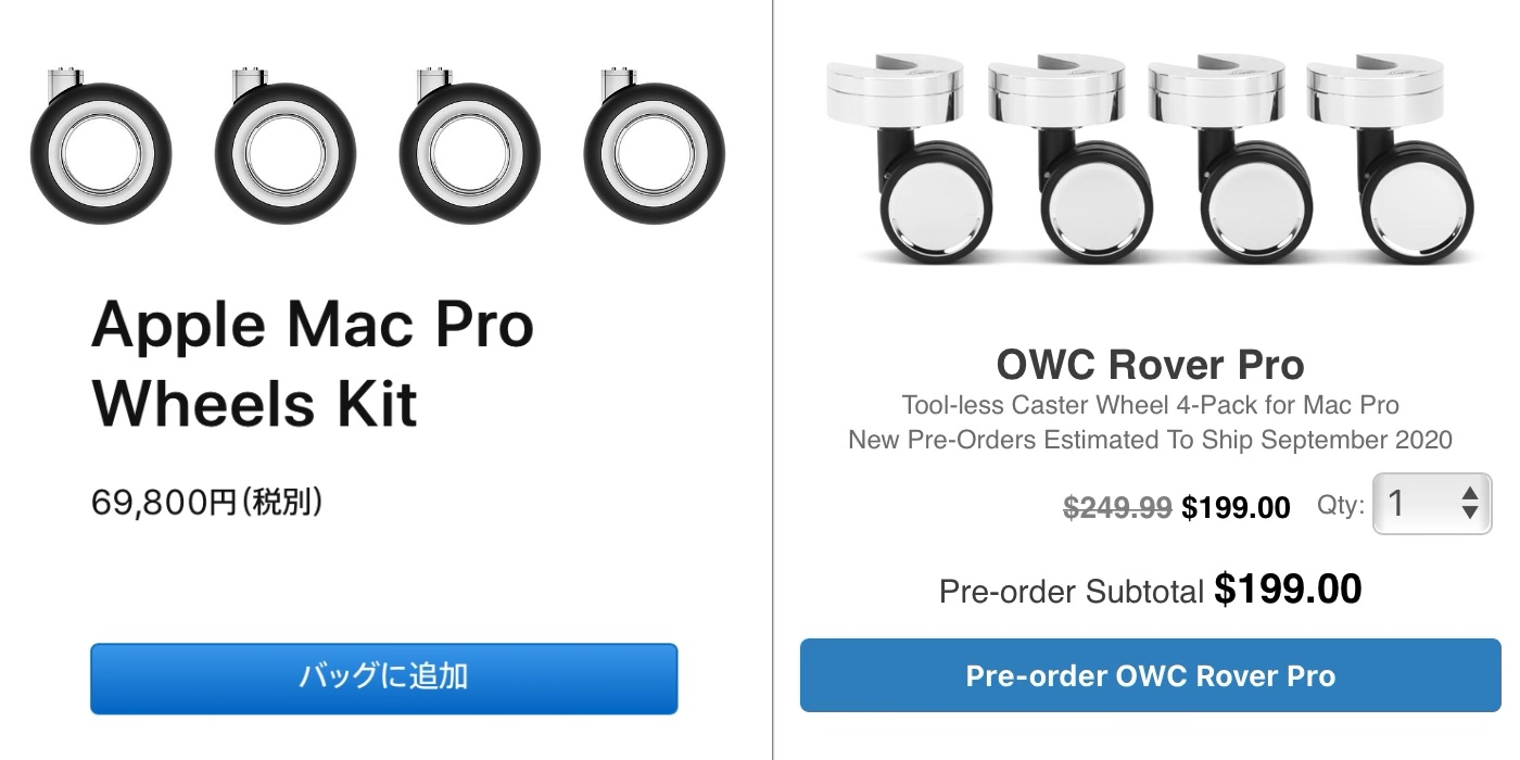 OWC Rover Proの価格