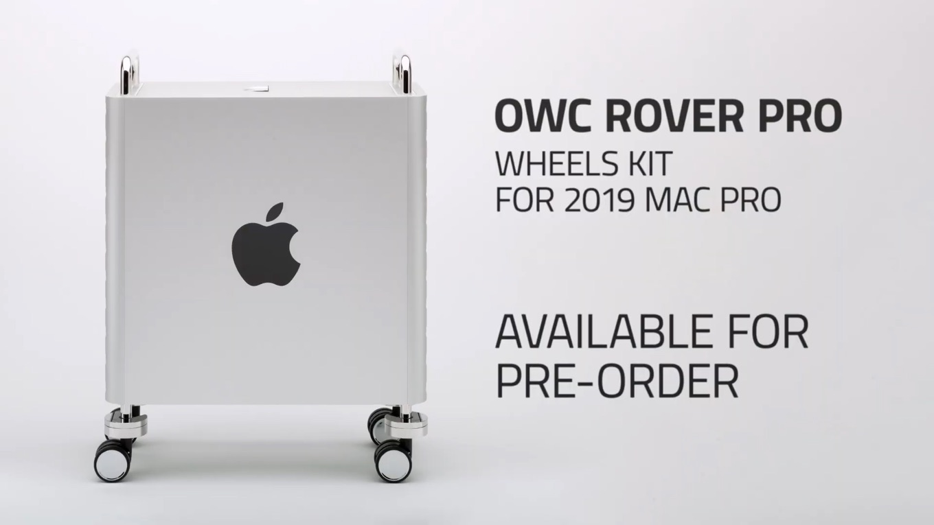 OWC Rover Pro for Mac Pro 2019