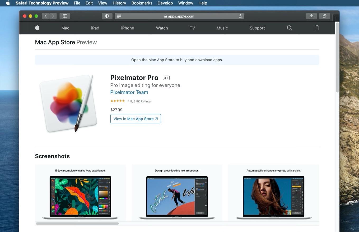 Pixelmator Proの星5評価