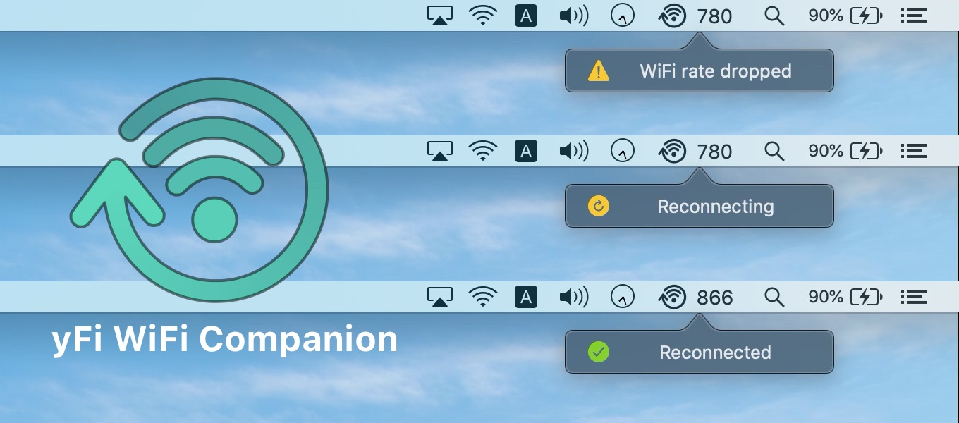 yFi WiFi Companion for Mac