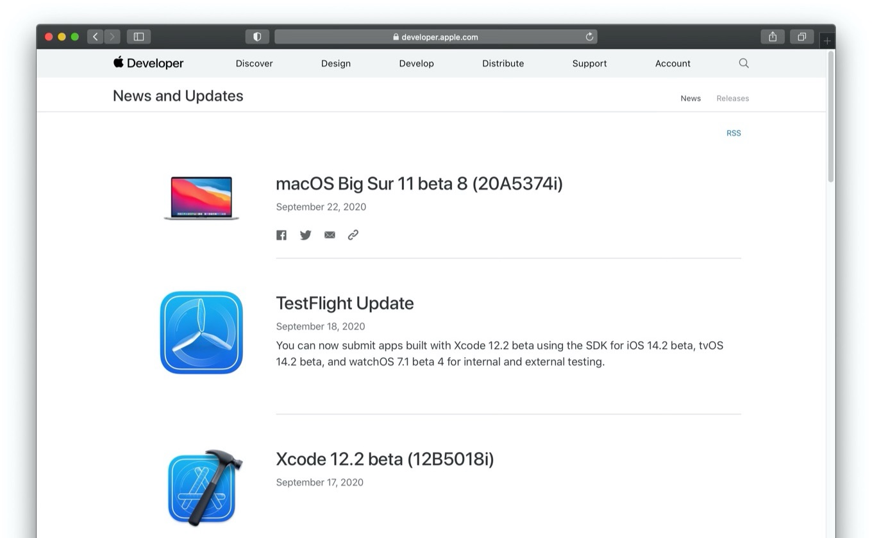 macOS Big Sur 11 beta 8 (20A5374i)