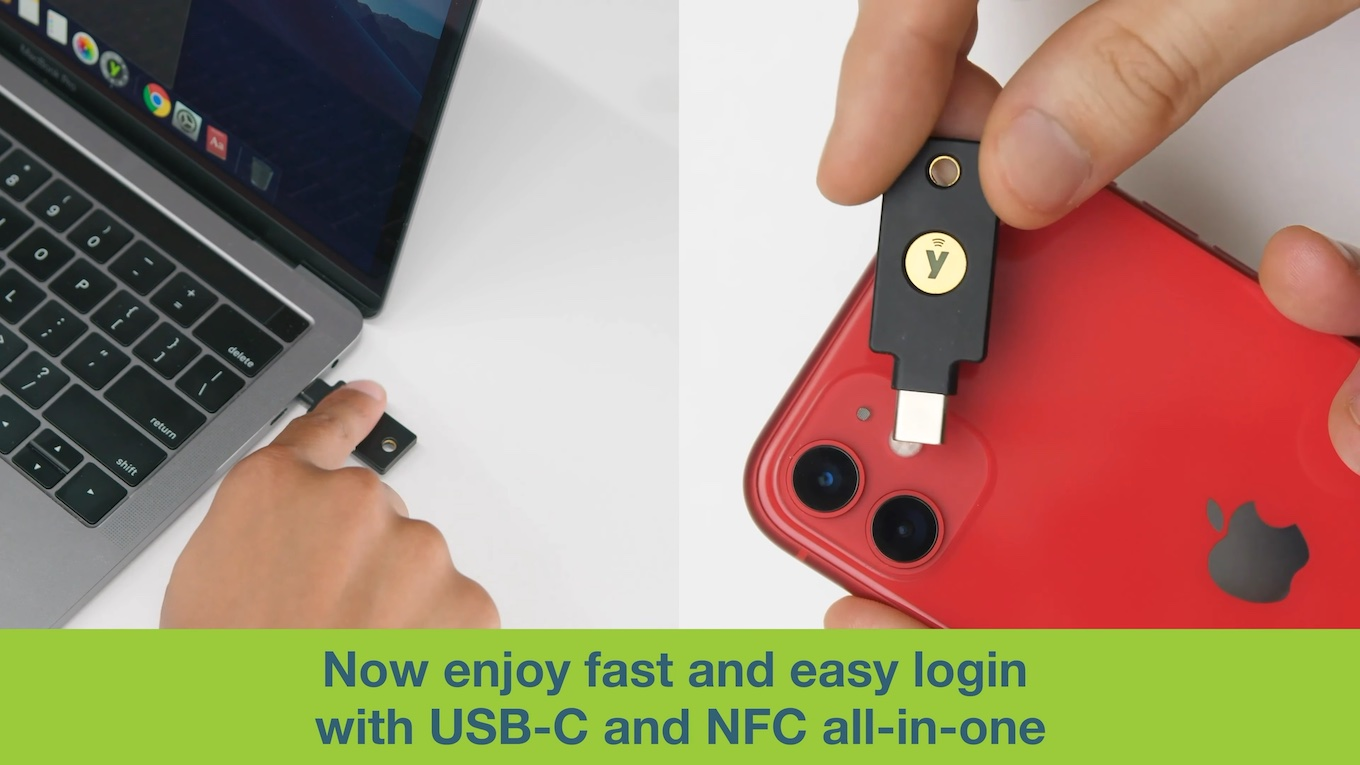 Introducing the YubiKey 5C NFC