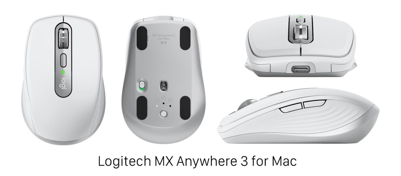 Logicool MX Anywhere 3 for Mac