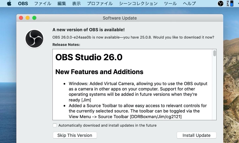 OBS Studio 26.0