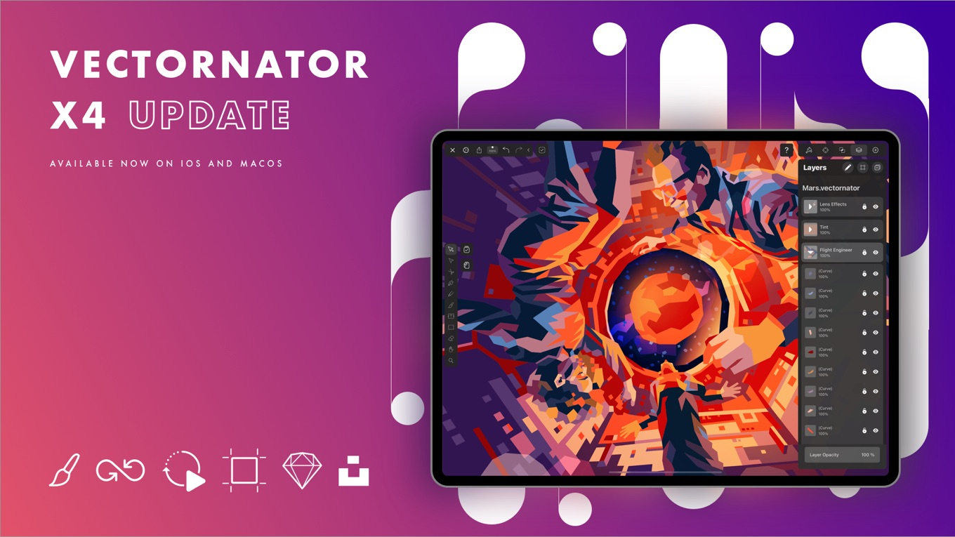 Vectornator Pro and X
