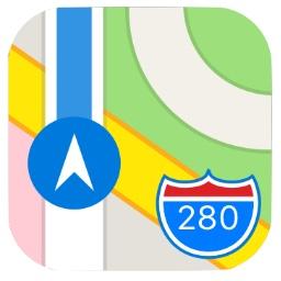 Appleのマップアプリ