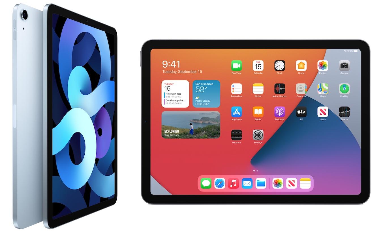 オールスクリーンデザインになったiPad Air (第4世代)
