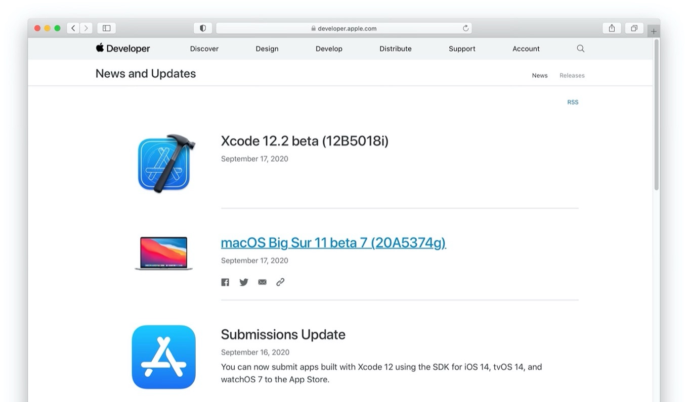 macOS Big Sur 11 beta 7 (20A5374g)