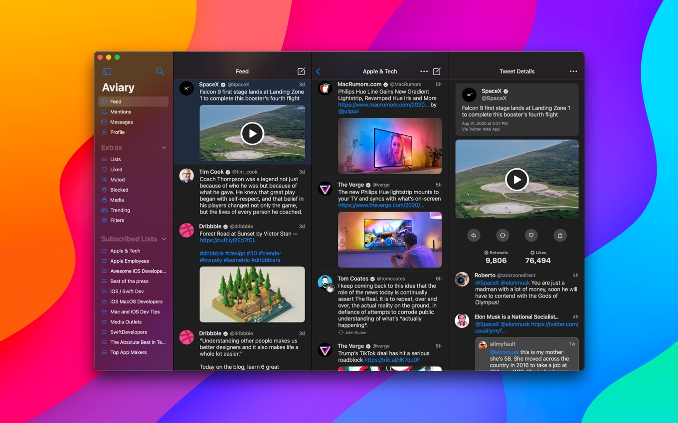 Aviary for Mac
