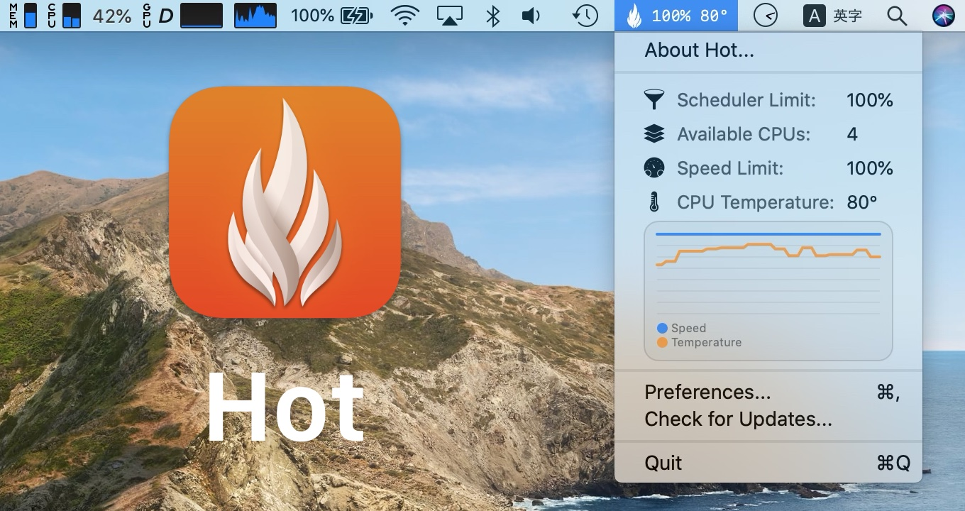 Hot for Mac app