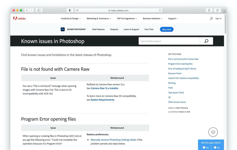 Photoshop 2021 (v22) for Mac