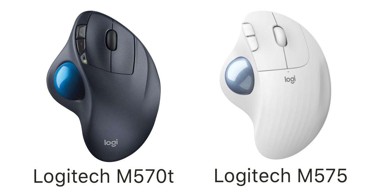 Logitech M570tとM575