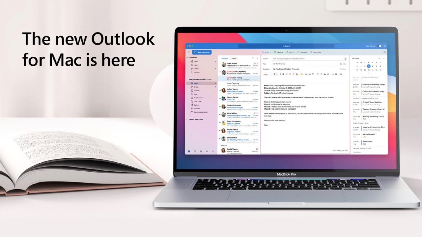 All New Outlook for Mac Here