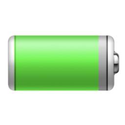 macOS 11 Big Surのバッテリーアイコン