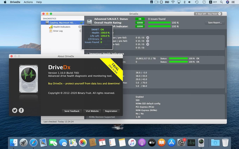 DriveDx v1.10.0 update