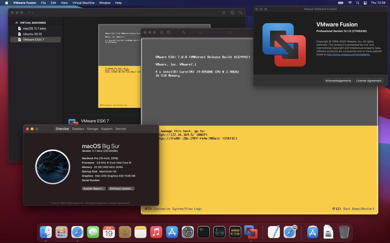 VMware Fusion 12.1