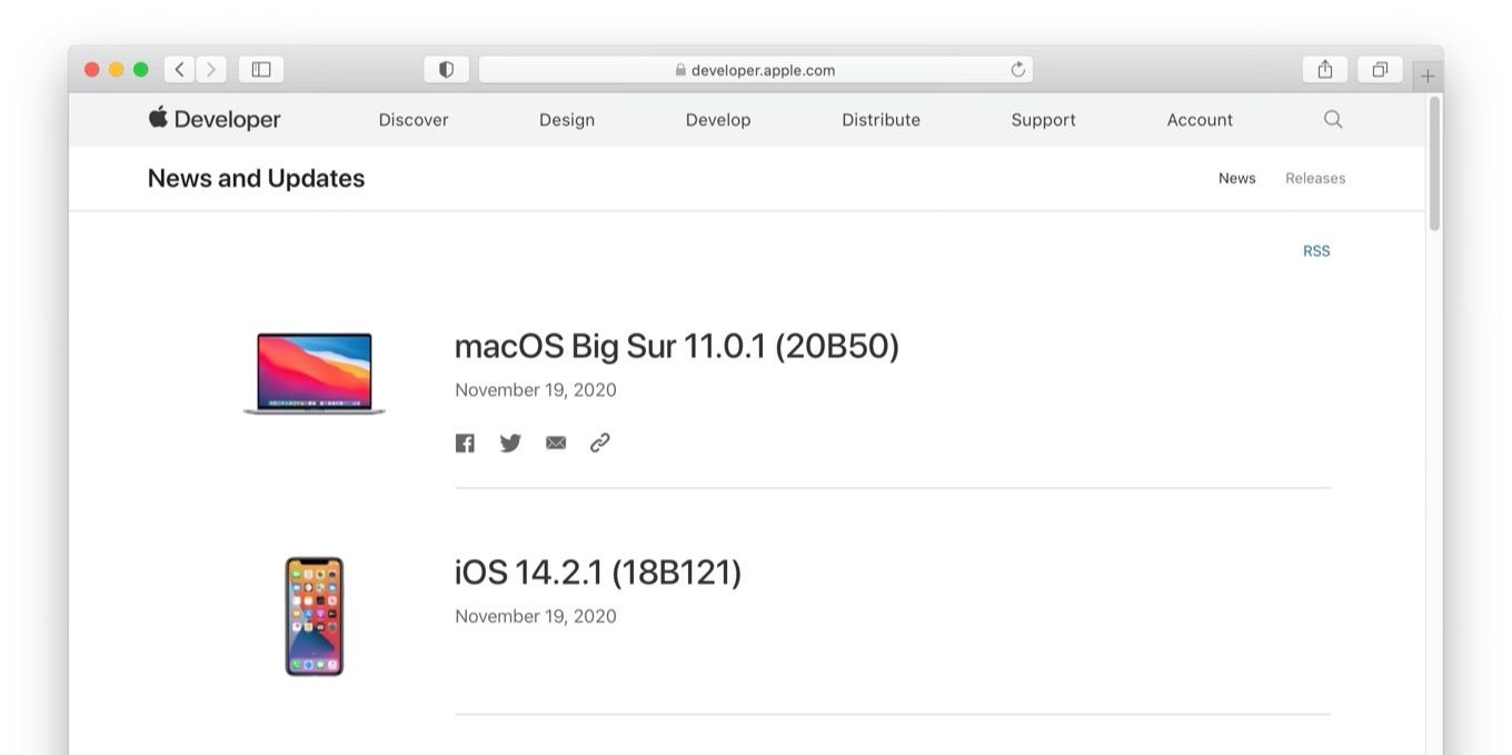 macOS Big Sur 11.0.1 Build 20B50