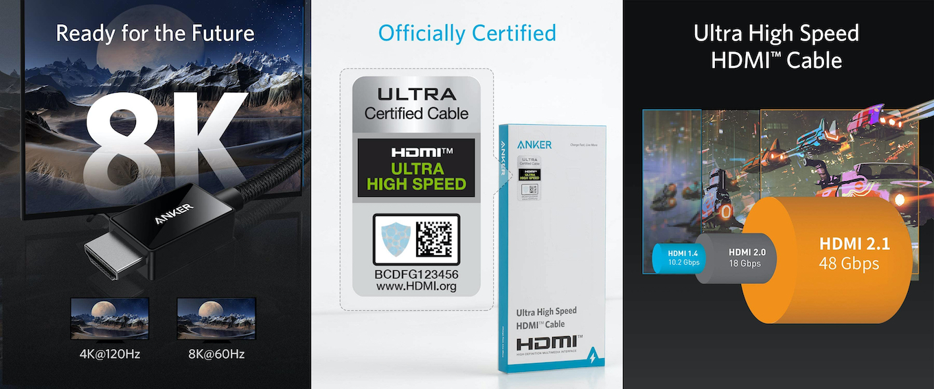 Anker Ultra High Speed HDMI Cable