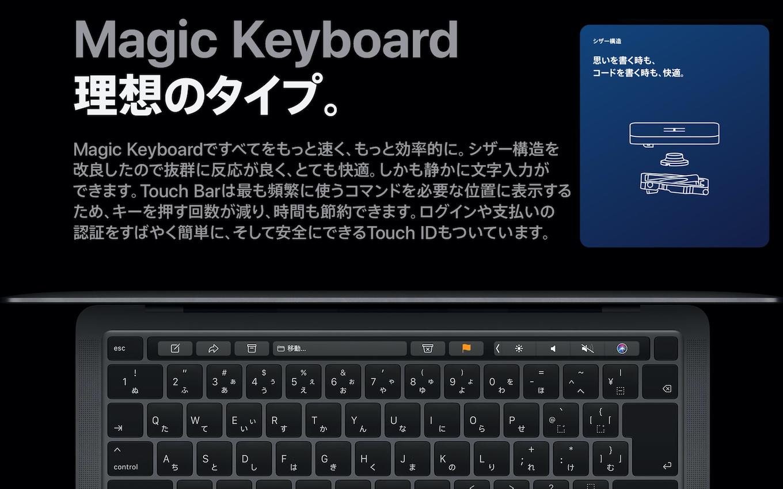 Apple Silicon MacBook Pro Magic Keyboard