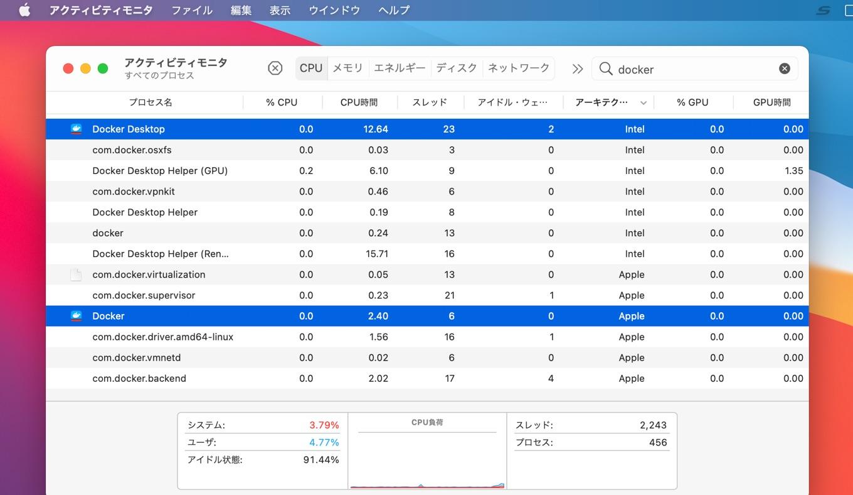 Docker Desktop Intel and Apple Arch