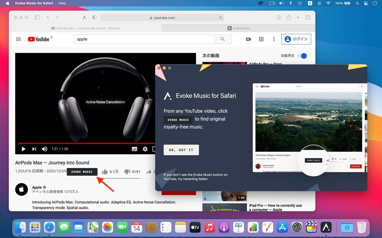 Evoke Music by Amadeus Code Inc for Safari
