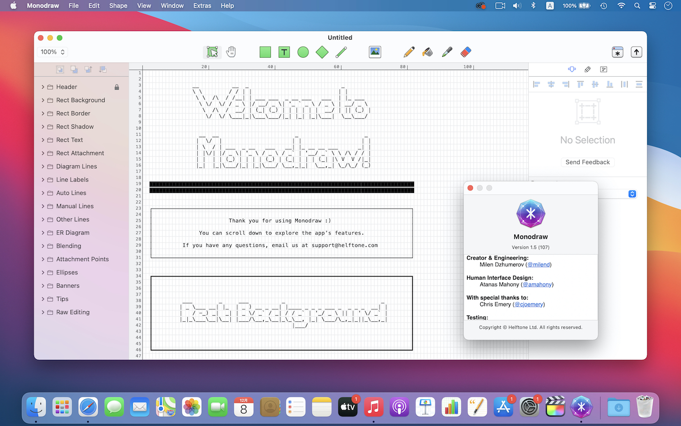 Monodraw for Mac v1.5