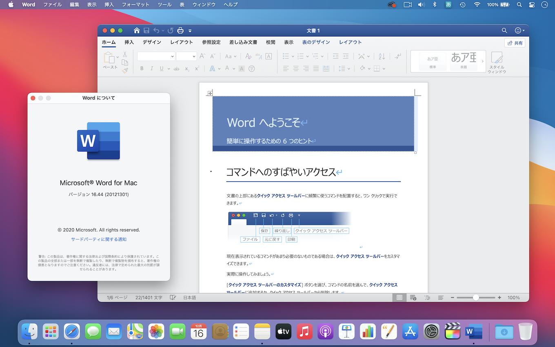 Microsoft 365/Office 2019 for Mac Universal Binary