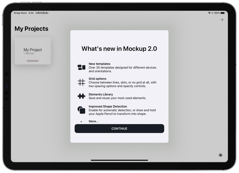 Mockup 2.0 for iPad