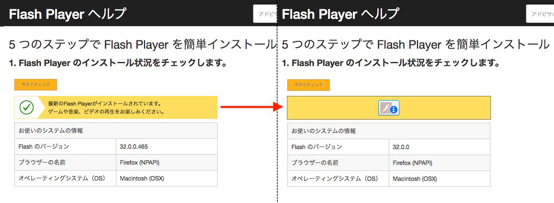 Flash PlayerにブロックされるFlashコンテンツ