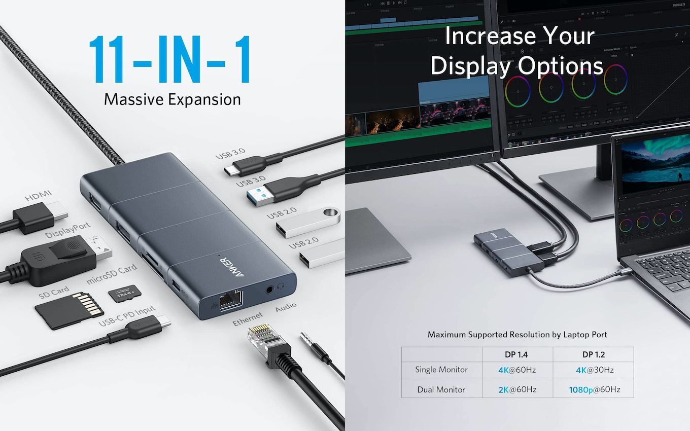 Anker PowerExpand 11-in-1 USB-C PD Hub