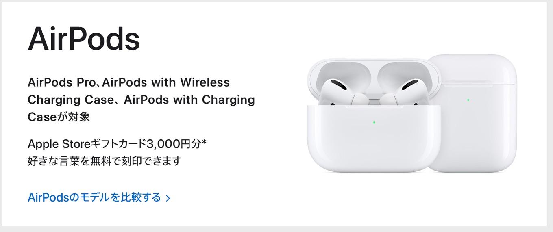 Appleの初売り2021 AirPods
