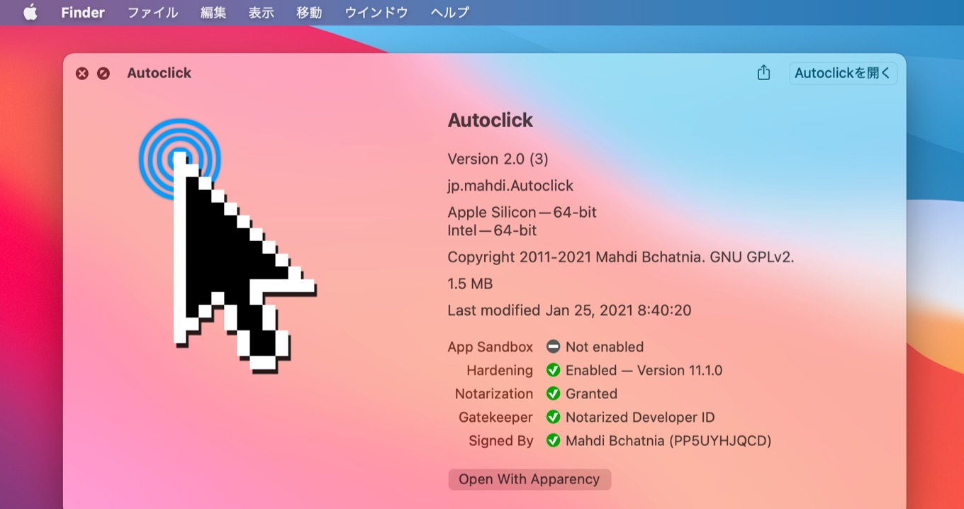 Autoclick for Mac v2.0