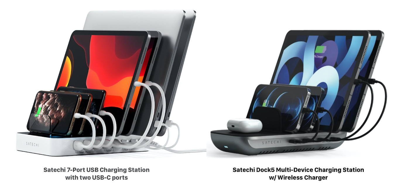 Satechi Dock5 Multi-Device Charging Station w/ Wireless Charger