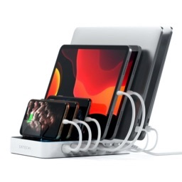 Satechi 7-Port USB Charging Station with two USB-C ports